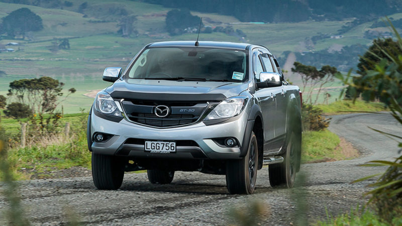Mazda BT50 feature