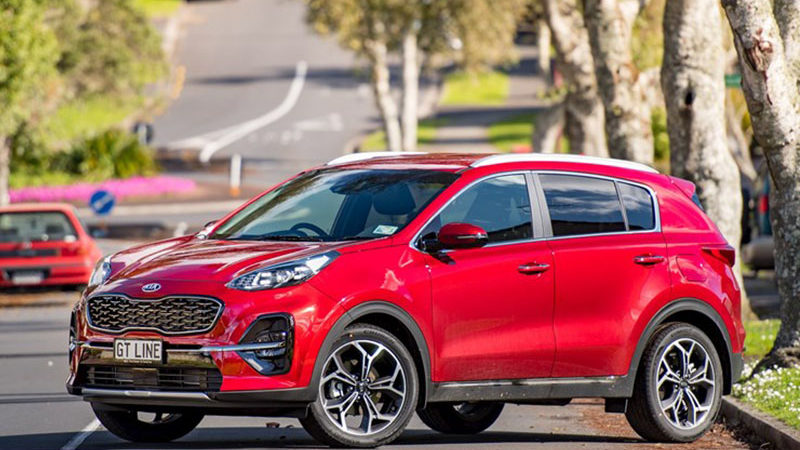 kia sportage review by Driven