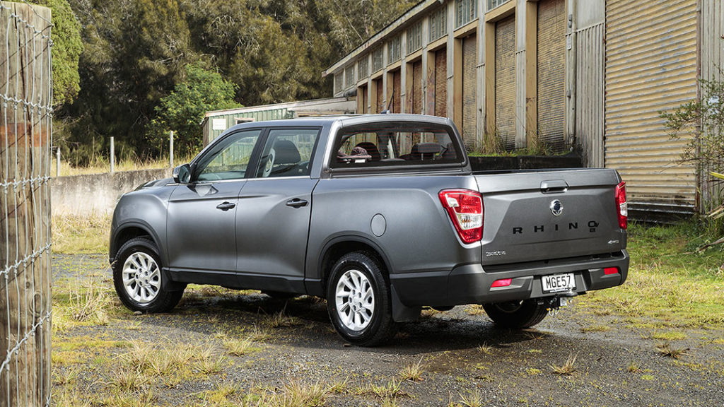 SsangYong Rhino XL nzautocar review